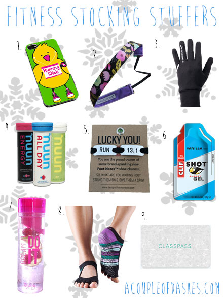 Fitness Stocking Stuffers + Gifts Under $20!  sc 1 st  A Couple of Dashes - WordPress.com & fitness gifts for her   A Couple of Dashes